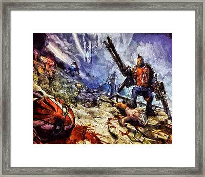 Don't Mess With The Gunserker Framed Print by Joe Misrasi
