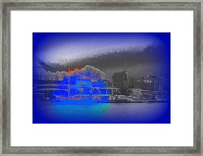 Dont Sail Away From Me, Take Me With You  Framed Print