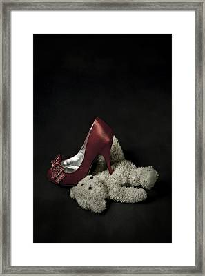 Don't Step On Me Framed Print