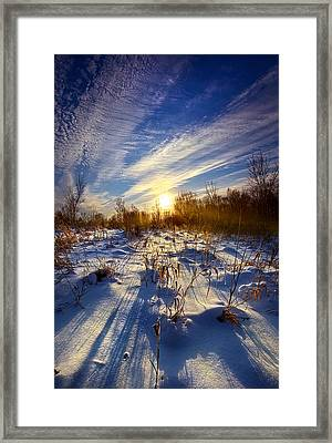 Don't Stop Believin' Framed Print by Phil Koch