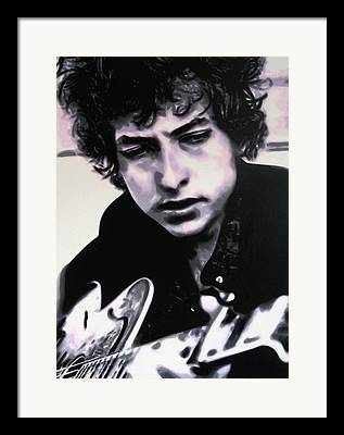 Highway 61 Revisited Paintings Framed Prints