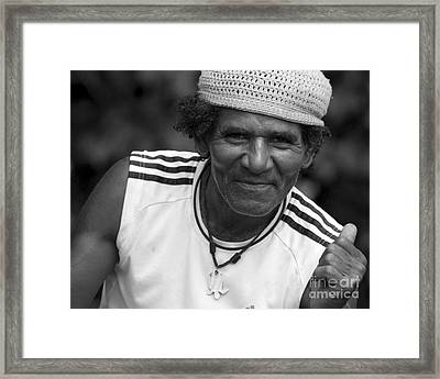 Don't Worry - Be Happy Framed Print by Heiko Koehrer-Wagner