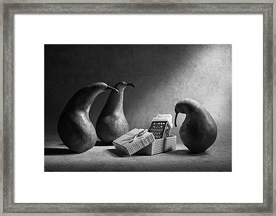 Don't You Like Our Present?! Framed Print