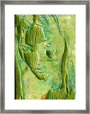 Don't You See Framed Print by India Samara