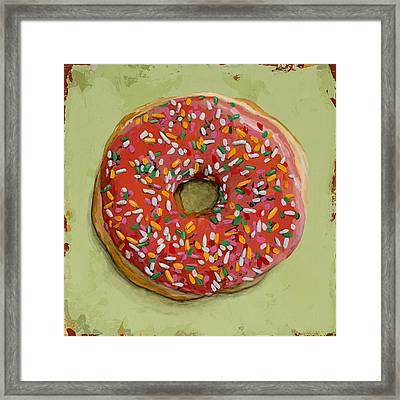 Donut #1 Framed Print by David Palmer