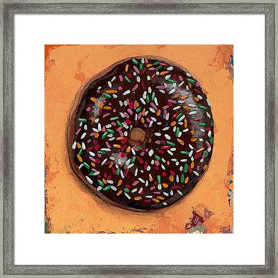 Donut #2 Framed Print by David Palmer