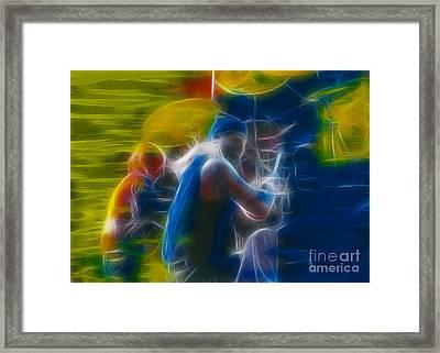 Doobies-93-gf9a-fractal Framed Print by Gary Gingrich Galleries