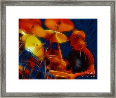 Doobies-93-keith-fractal Framed Print by Gary Gingrich Galleries