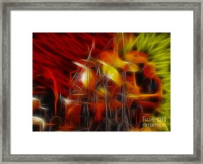 Doobies-93-keith-gg4-fractal Framed Print by Gary Gingrich Galleries