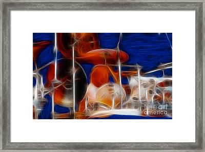 Doobies-97-michael-bb31-fractal Framed Print by Gary Gingrich Galleries