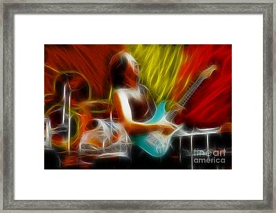 Doobies-97-patrick-cc17-fractal Framed Print by Gary Gingrich Galleries