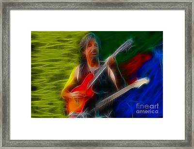 Doobies-97-patrick-cc35-fractal Framed Print by Gary Gingrich Galleries