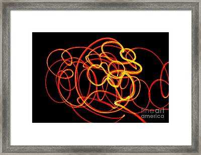 Doodle Framed Print by Xn Tyler