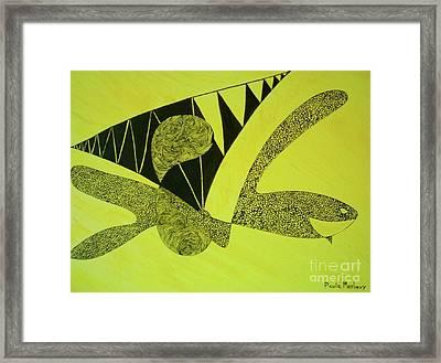 Doodlewat3 Framed Print