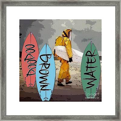 Doodoo Poster Framed Print