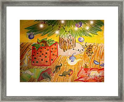 Dook The Halls Framed Print by Cassandra Buckley