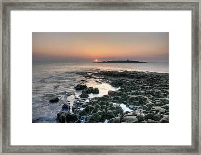 Doolin Sunset Framed Print by John Quinn