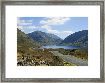 Doolough Pass County Mayo Ireland Framed Print