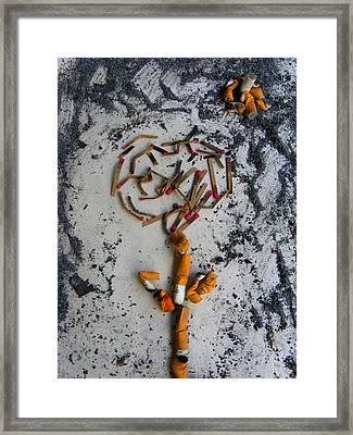 Doomed Love By Darryl Kravitz Framed Print by Darryl  Kravitz