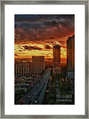 Dooms Day Preview Framed Print by Syed Aqueel