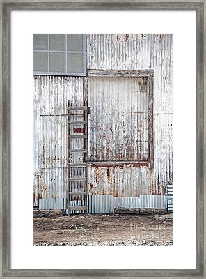 Framed Print featuring the photograph Door 1 by Minnie Lippiatt