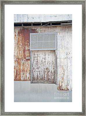 Framed Print featuring the photograph Door 2 by Minnie Lippiatt