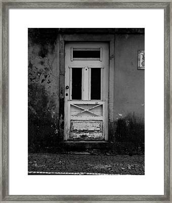 Door-8 Framed Print