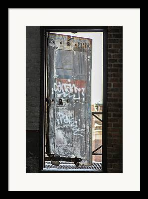 Detroit Abandoned Buildings Michigan Framed Prints