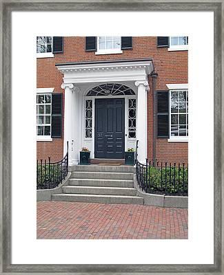 Door And A Half Framed Print by Barbara McDevitt