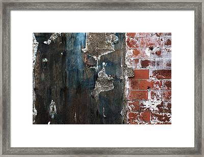 Door Framed Print by Anna Lozyk Romeo