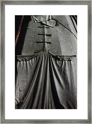Framed Print featuring the photograph Door by Ben Kotyuk