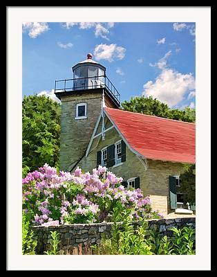 Fish Creek Wisconsin Framed Prints