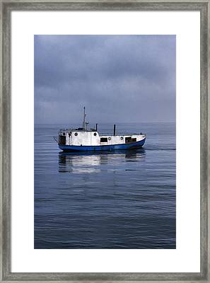 Door County Gills Rock Trawler Framed Print