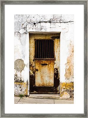 Door No 48 Framed Print