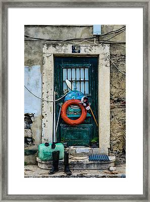 Door No 5 Framed Print