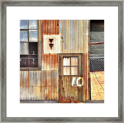 Door Number 10 Framed Print