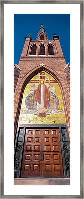 Door Of A Cathedral, Cathedral Of St Framed Print by Panoramic Images