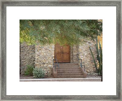 Door Of Hope Framed Print by Beverly Guilliams