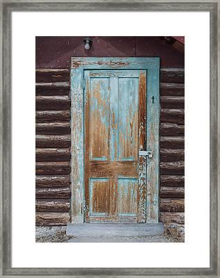 Door One Framed Print by Fran Riley