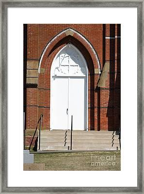 Door To Heaven Framed Print