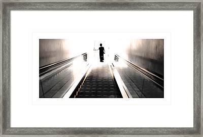 Door To Nirvaa Framed Print by Anusha Hewage