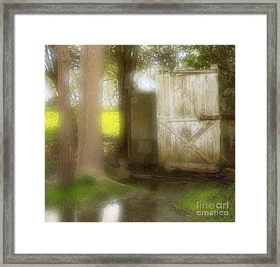Door To Other Realms Framed Print by Inspired Nature Photography Fine Art Photography