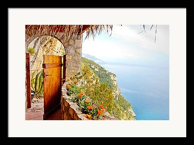 Mediterranean Photographs Framed Prints