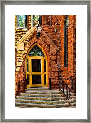 Door To Sanctuary Series Image 1 Of 4 Framed Print
