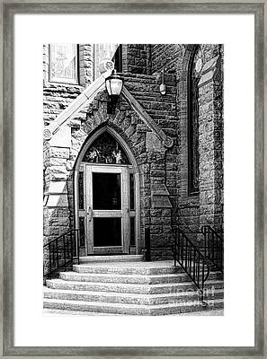 Door To Sanctuary Series Image 3 Of 4 Framed Print