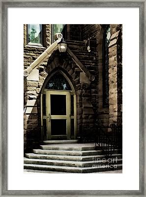 Door To Sanctuary Series Image 4 Of 4 Framed Print