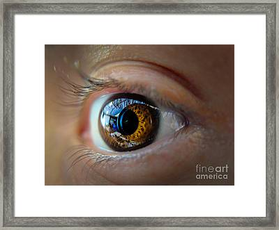 Door To The Soul Framed Print by Will Cardoso
