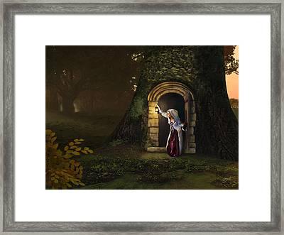 Door To The Underworld Framed Print