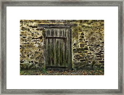 Door To Yesterday Framed Print
