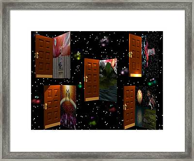 Door To Your Dreams Framed Print